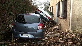 Var: début du nettoyage à La Londe-les-Maures