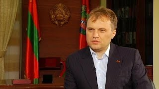 Interview: Transnistran president Shevchuk says he wants a ''civilised divorce'' with Moldova