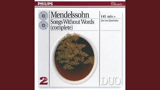 Mendelssohn: Lieder ohne Worte, Op.85 - No. 1. Andante espressivo in F