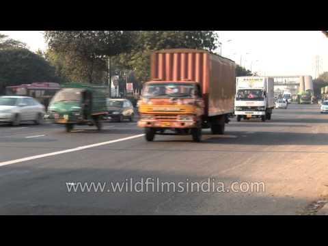Way to Indira Gandhi International Airport, Delhi, via Dhaula Kuan