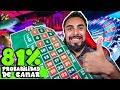 El sistema con mayor probabilidad de ganar en la ruleta | Profesionales de ruleta #7
