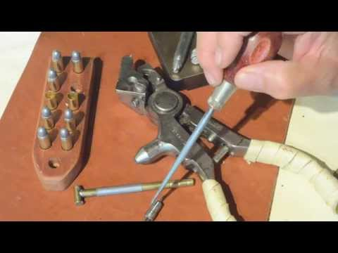 Reloading Using A Vintage Ideal No. 4 Tool