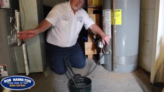 how to flush a water heater