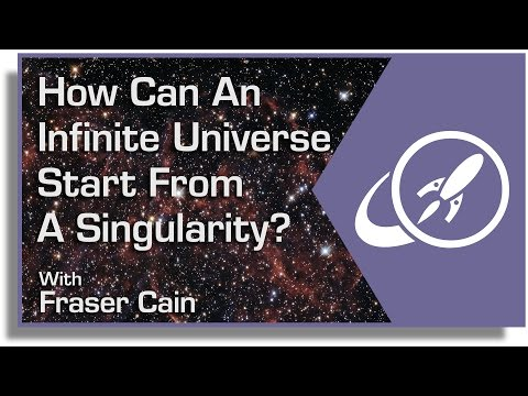 How Can An Infinite Universe Start From a Singularity Featur