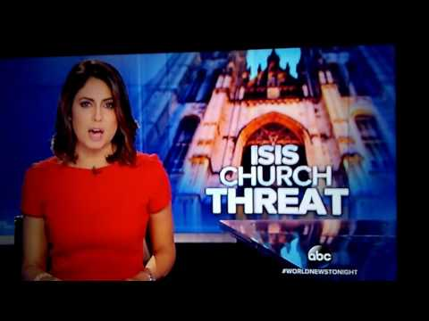 Isis church threat in the USA