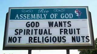 Must Watch! World's Most Genius Church Signs that'll brighten your Day!