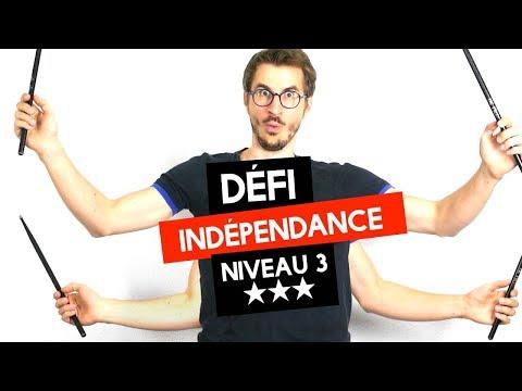 Exercice d'indépendance NIVEAU 3 (avancé)