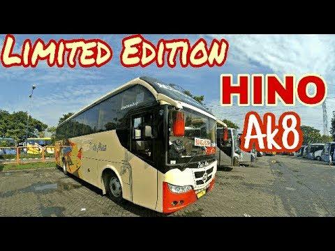 LIMITED EDITION !! Bus Double Glass Tapi MESIN DEPAN . Riview Dali Mas by Nusantara Gemilang