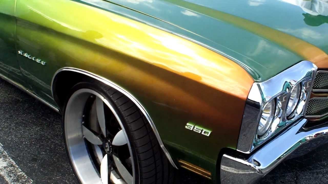 70 Chevelle Malibu Flip Flop Paint With Brushed Forgiatos Youtube