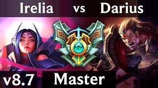 IRELIA vs DARIUS (TOP) /// NA Master /// Patch 8.7