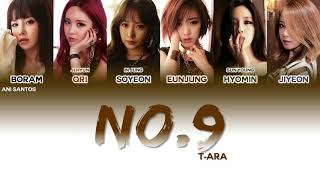 T-ARA (티아라) - NUMBER NINE (넘버나인) (Han/Rom/Eng) Color Coded L…