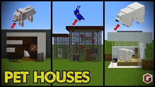 29 Minecraft Pet (Animal) House Designs! thumbnail
