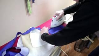 Как сшить платье с цельнокройным рукавом