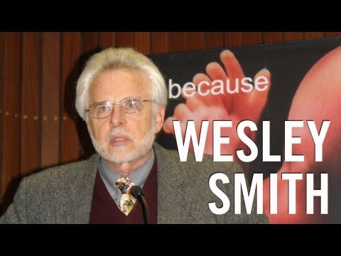 Ethics of stem cell research and human cloning : Wesley Smith : Dublin, 2009 (Part 2 of 2)
