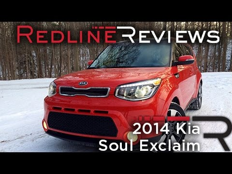 2014 Kia Soul Exclaim – Redline: Review