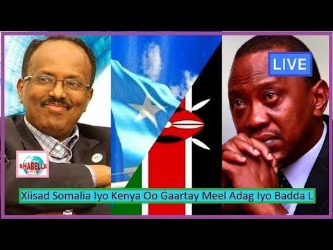 WARAR CULUS; Xiisada Siyaasadeed Ee Dalalka Kenya Iyo Somalia Oo Meel Xun Gaartay Iyo Sababta Kenya