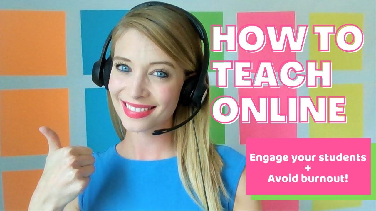 Download HOW TO TEACH ONLINE (Top Tips for New Online Teachers!)