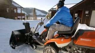 Роторный снегоуборщик для райдеров Husqvarna R 316T R 316T AWD.