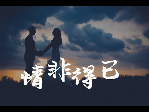 【Miss J】庾澄慶 Harlem Yu -情非得已 (歌詞HD)