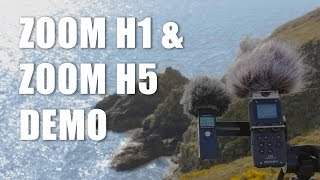 Zoom H1 and Zoom H5 Demo |  By Joyvel Osorio