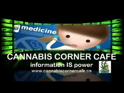 Cannabis Corner Cafe   with Speaking Wind Woman