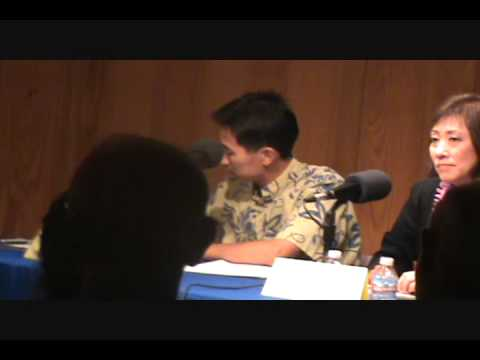 HI-01; March 15, 2010, Charles Djou, HPR Debate, part 4 of 11.wmv