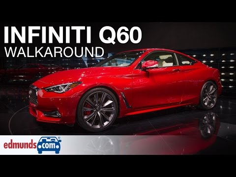 2017 Infiniti Q60 Walkaround   Detroit Auto Show