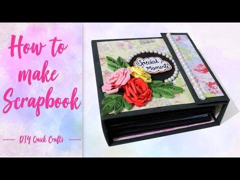how-to-make-scrapbook-|-scrapbook-ideas-|-diy-tutorial-by-diy-quick-crafts