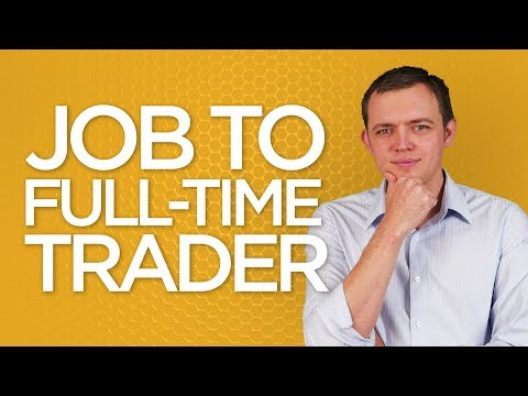 Ep 144: Taking a Leap from a Job to Full-Time Trader