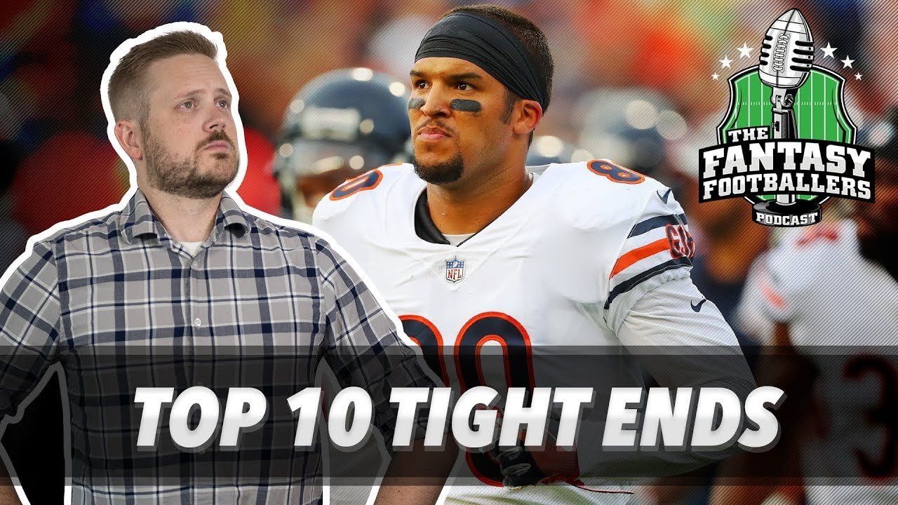 fantasy football 2018 top 10 tight ends draft strategy te sleepers ep 587 youtube. Black Bedroom Furniture Sets. Home Design Ideas