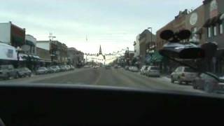 Driving thru downtown Alexandria