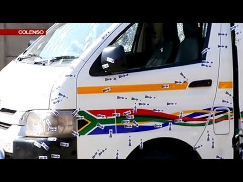 UPDATE: Crime scene of the 11 taxi operators shot dead in KZN