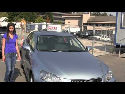 Virtual Video Walk around tour of a 2009 Lexus IS 250 from Chaplins Auto Group in Bellevue WA