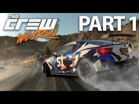 The Crew Wild Run Gameplay Walkthrough Part 1 - DRAG, MONSTER & DRIFT
