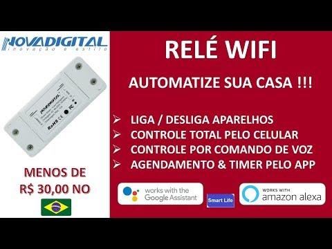 Tuya & SmartLife - Novadigital – Ligue E Desligue Os Aparelhos De Pelo Celular Ou Comando De Voz