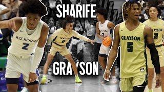 Sharife Cooper's LAST High School Game?? McEachern vs Grayson PART 2 in Final 4 WIN OR GO HOME Game