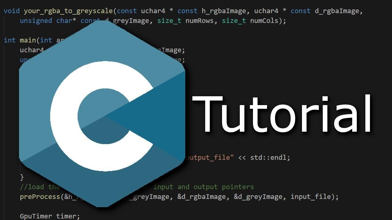 Programmieren in C Tutorial #03 - scanf / printf (Einlesen, Ausgeben)