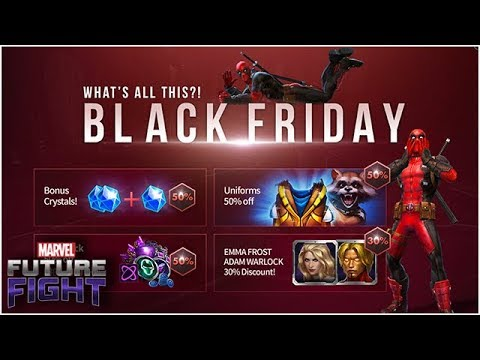 Crystals are Forever: Black Friday 2018 Sales & Deals - Marvel Future Fight