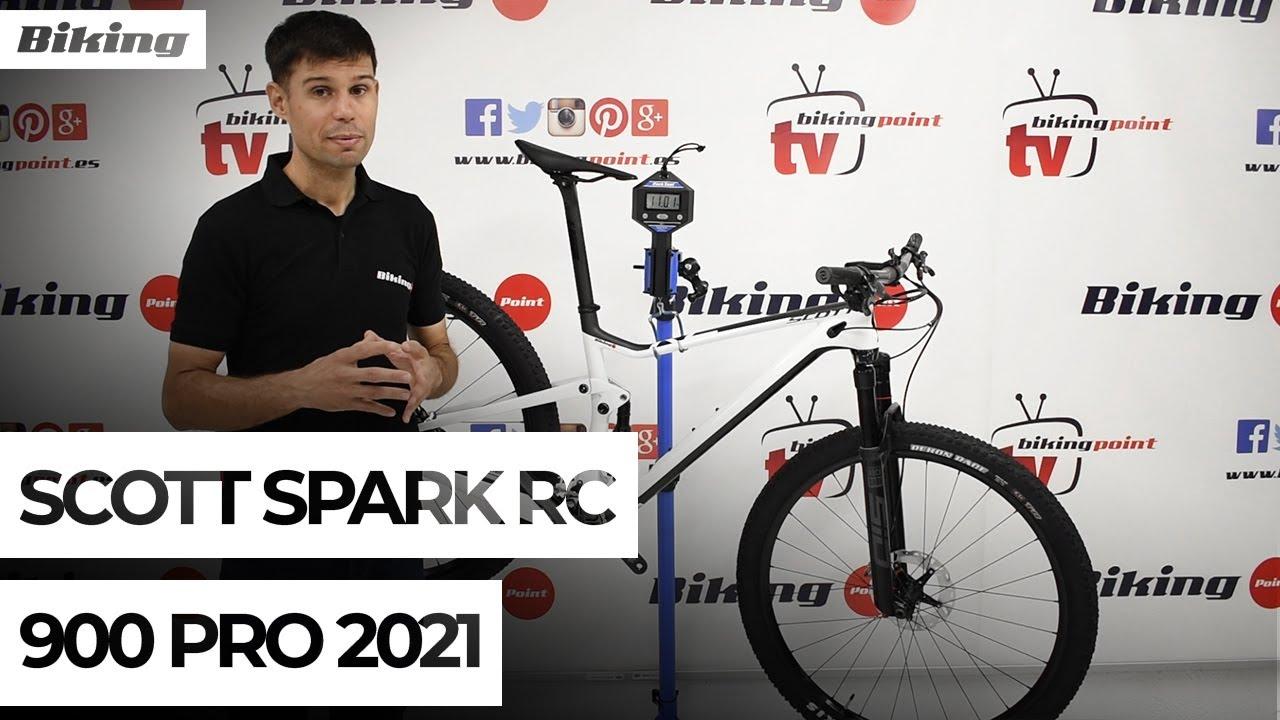 Bicicleta Scott Spark RC 900 Pro 2021 | Presentación