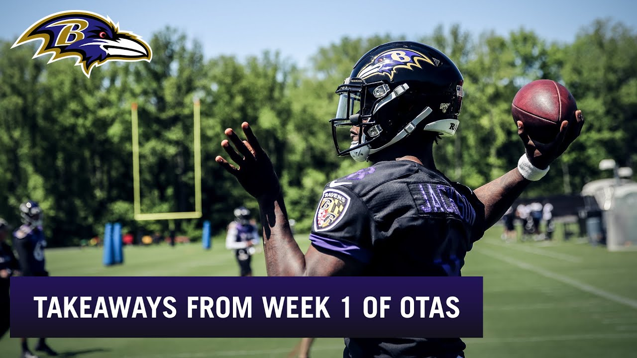 Top Top Takeaways From Week 1 of OTAs | Baltimore Ravens YouTube  for sale
