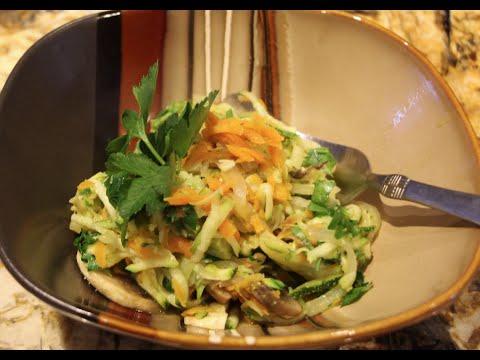 Chicken Zucchini Pasta Primavera