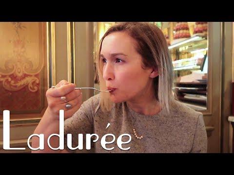 LADUREE PATISSERIE (PARIS TRAVEL VLOG) | Eileen Aldis