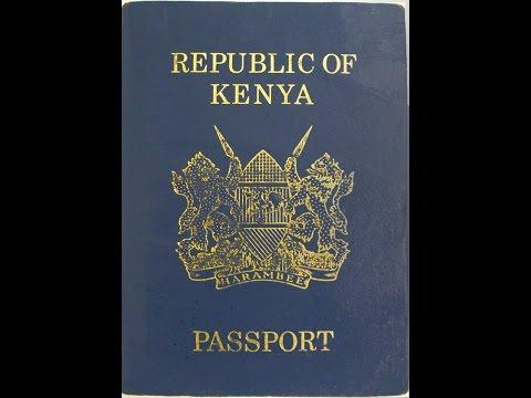 Kenya Immigration: Application for Kenyan Passport online at eCitizen Portal