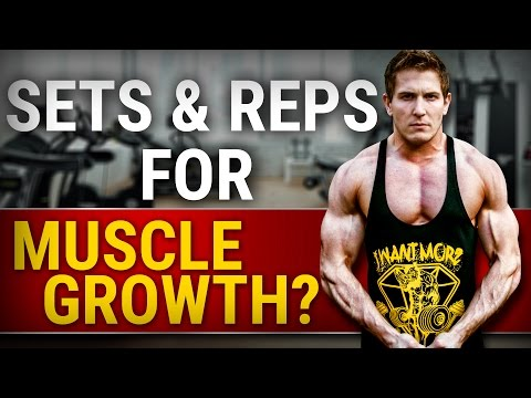 Ideal Number Of Sets & Reps For Muscle Growth  YOU ARE DOING IT WRONG!