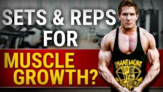 Ideal Number Of Sets & Reps For Muscle Growth | YOU ARE DOING IT WRONG! thumbnail