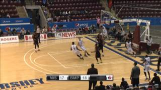 Malcolm Grant and Marcus Capers Runs the Fast Break vs. Brampton A