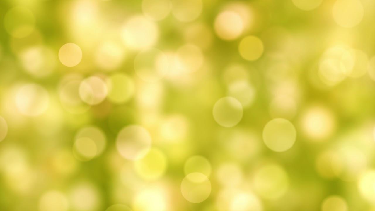 Islamic Wallpaper Hd Download Full Free Bokeh Background Loop Light Green Amp Yellow Effect