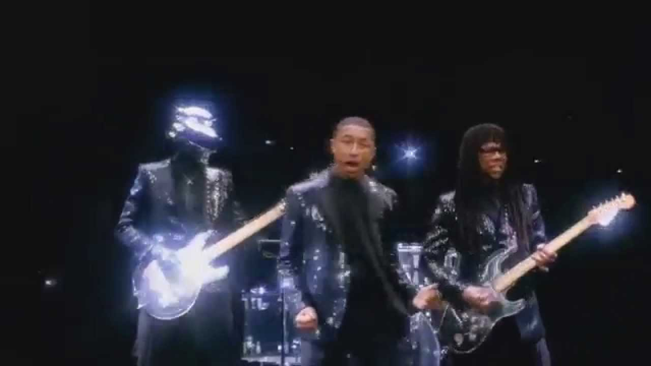 Daft Punk ft.Pharrell Williams & Nile Rodgers Vs Michael Jackson   Billie Jean Get Lucky Mash Up