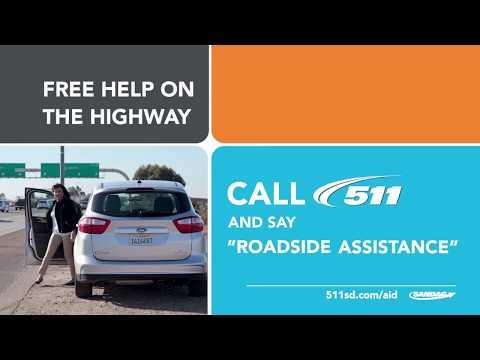San Diego 511 Roadside Assistance Program