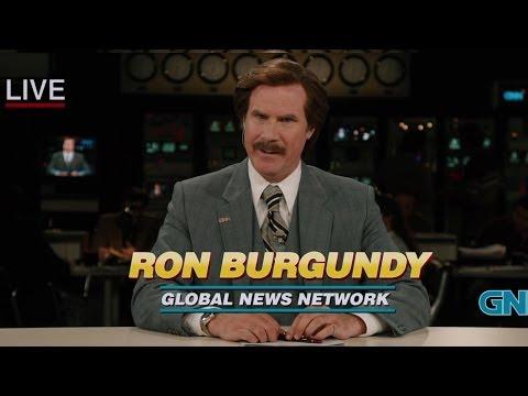 "Anchorman 2 ""Crack"" Clip Official - Will Ferrell"